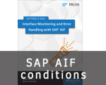 SAP AIF conditions